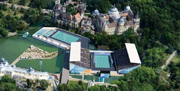 A Budapest i Campionati Mondiali di Nuoto FINA 2017, nelle piscine Myrtha Pools
