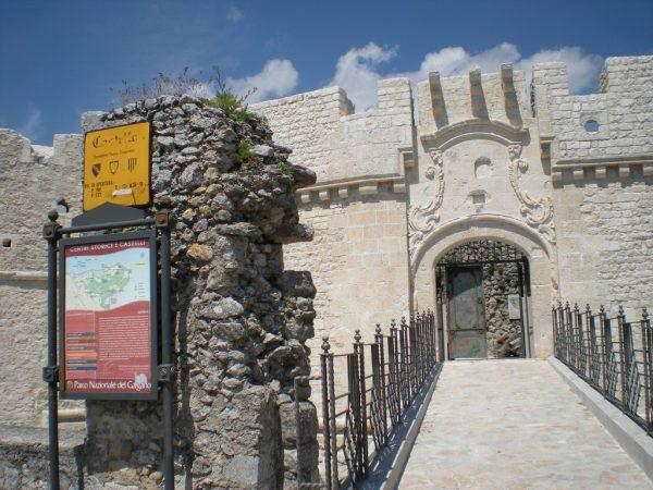 giardino del Castello di Monte Sant'Angelo