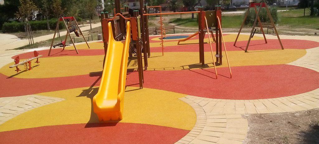 parco giochi a Lesina
